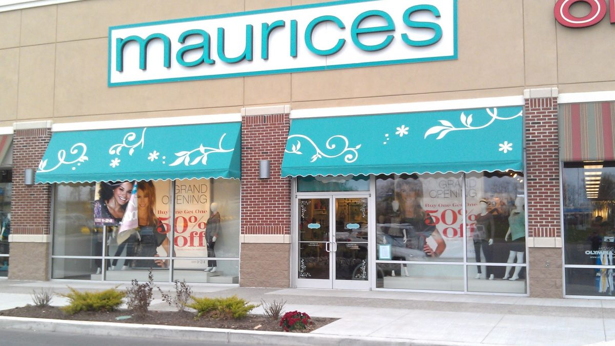 Commercial Awnings for Maurices