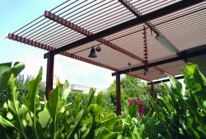 Adjustable Louvered Pergola System