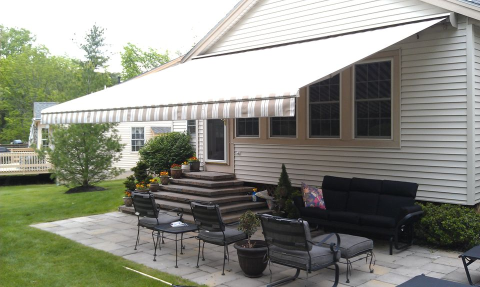 Retractable Residential Awning