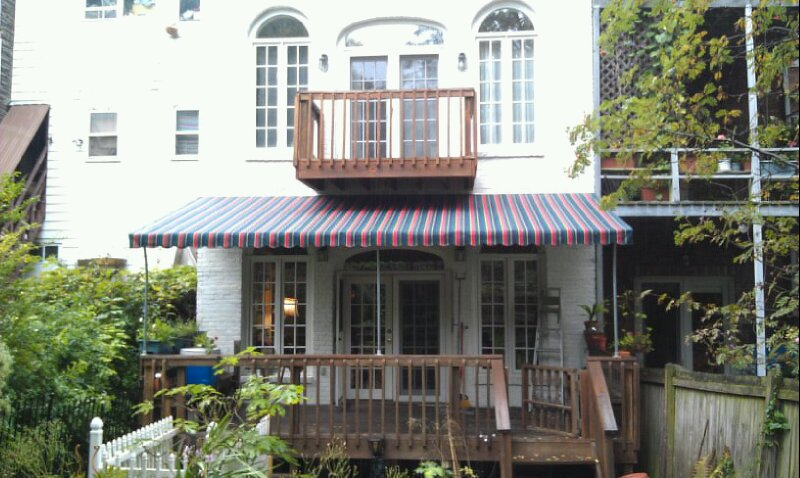 Stationary Residential Awning