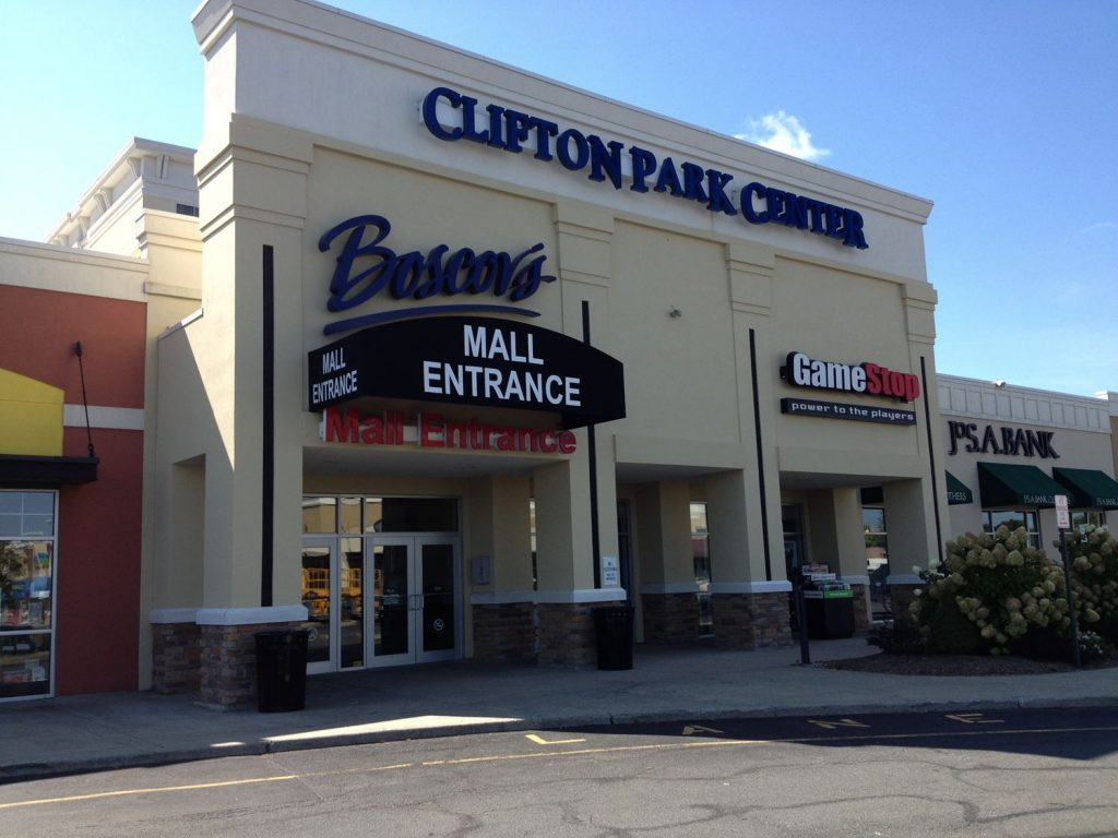 Archway with Graphics at Clifton Park Center, NY