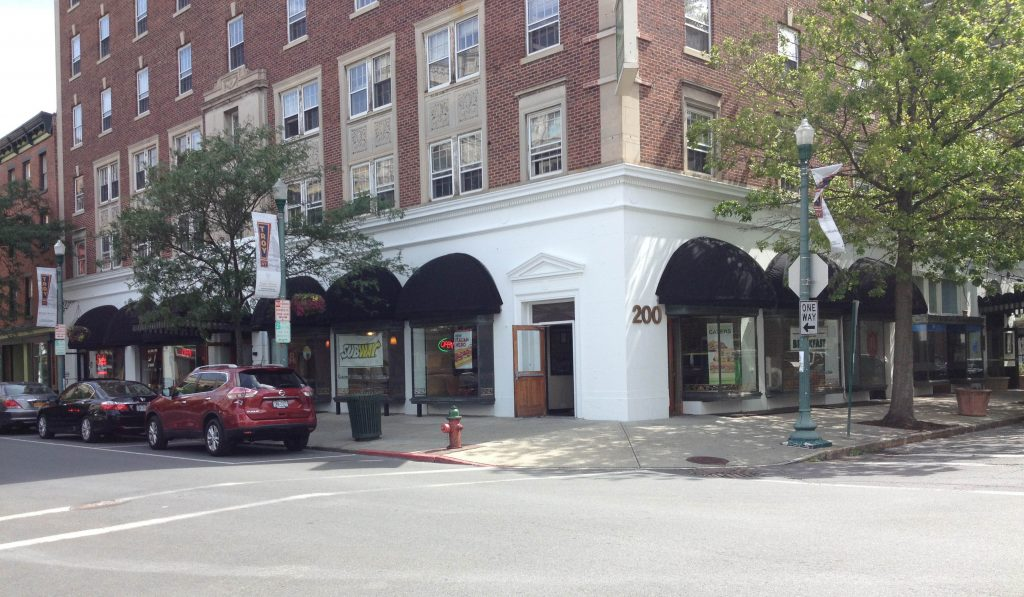 8 Dome Awnings at Henrick Hudson Building